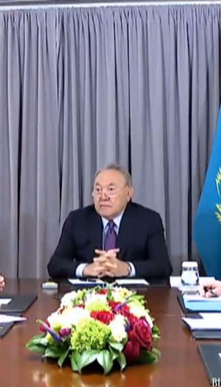 Неизменный глава Казахстана Нурсултан Назарбаев заявил, что уходит с поста