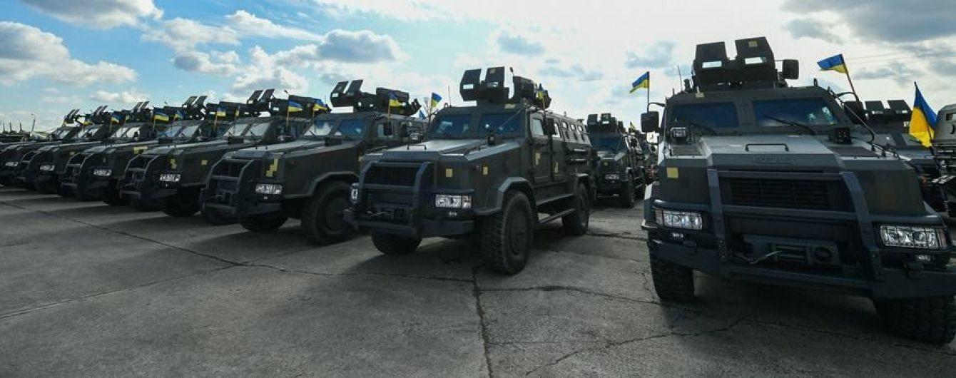 Украинская армия получила более 400 единиц техники и нового вооружения