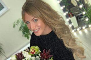 Леся Нікітюк у міні-сукні похизувалася звабливим декольте