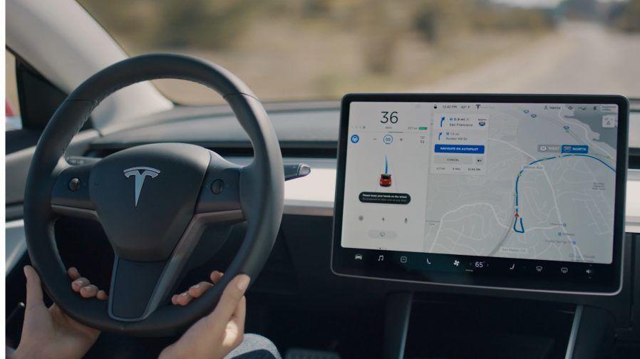 Салон Tesla
