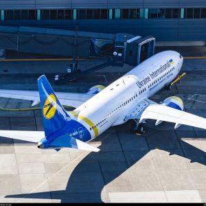 У Мережі оприлюднили фото першого літака Boeing 737 MAX української авіакомпанії