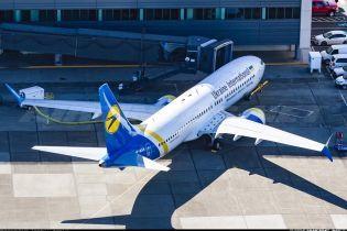 В Сети опубликовали фото первого самолета Boeing 737 MAX украинской авиакомпании