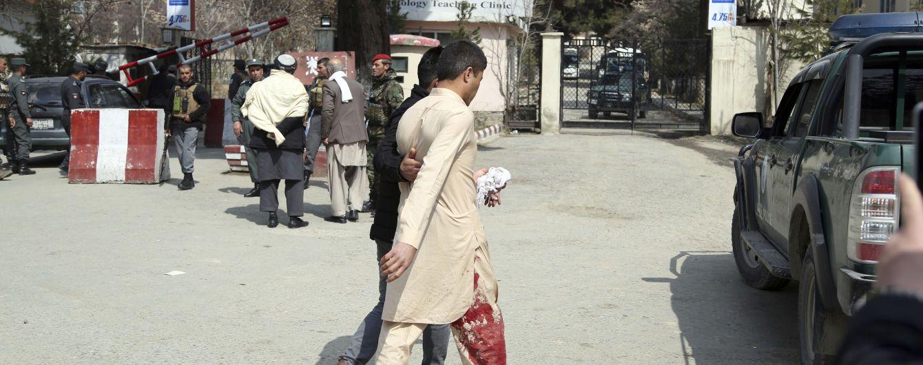 У Кабулі ісламісти вчинили теракт, внаслідок якого загинуло шість осіб