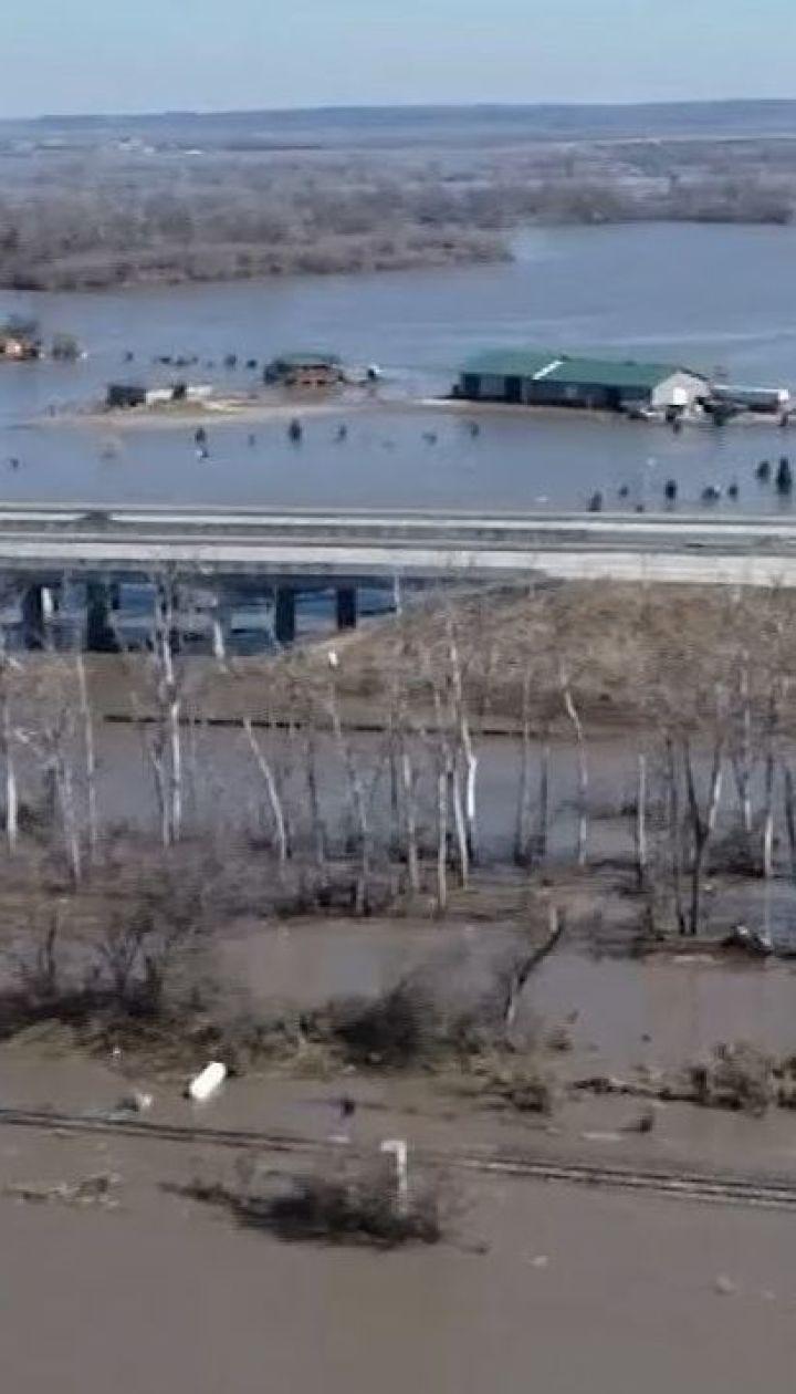 Збитки від масштабних повеней в штаті Небраска оцінюють в 1,5 млрд доларів