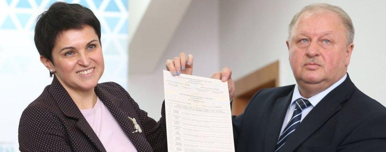 У ЦВК показали 80-сантиметровий бюлетень для виборів президента України