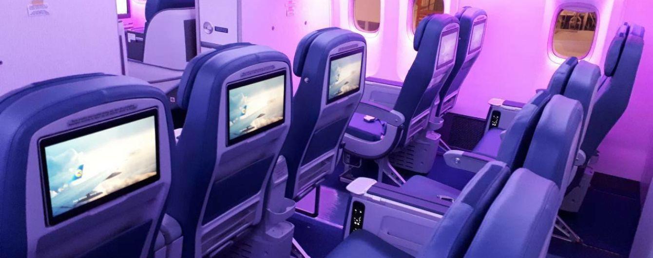 МАУ подняла плату за выбор места в самолете