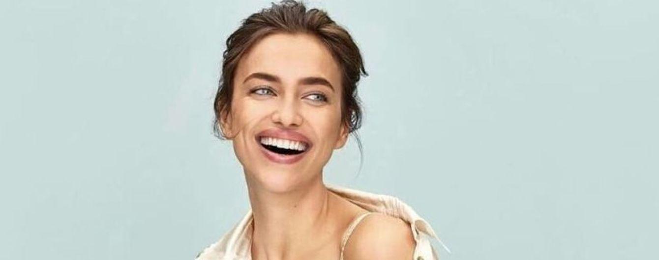 Красивая и сексуальная: Ирина Шейк в новой кампании бельевого бренда