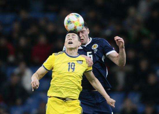 Казахстан сенсаційно розбив Шотландію у матчі-відкритті відбору Євро-2020