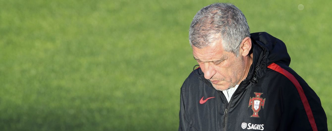 Тренер сборной Португалии: Если мы не победим Украину - это будет большим разочарованием для меня