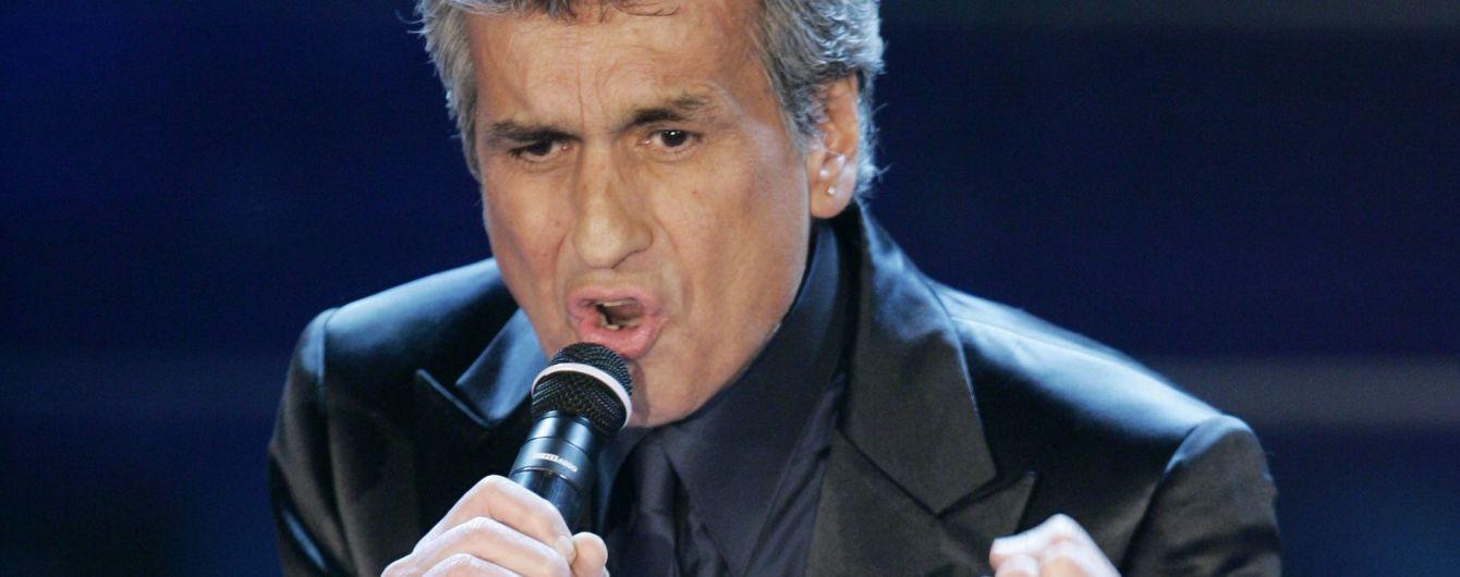 Скандал с Тото Кутуньо. Итальянского певца пустили в Украину несмотря на поздравление Путина