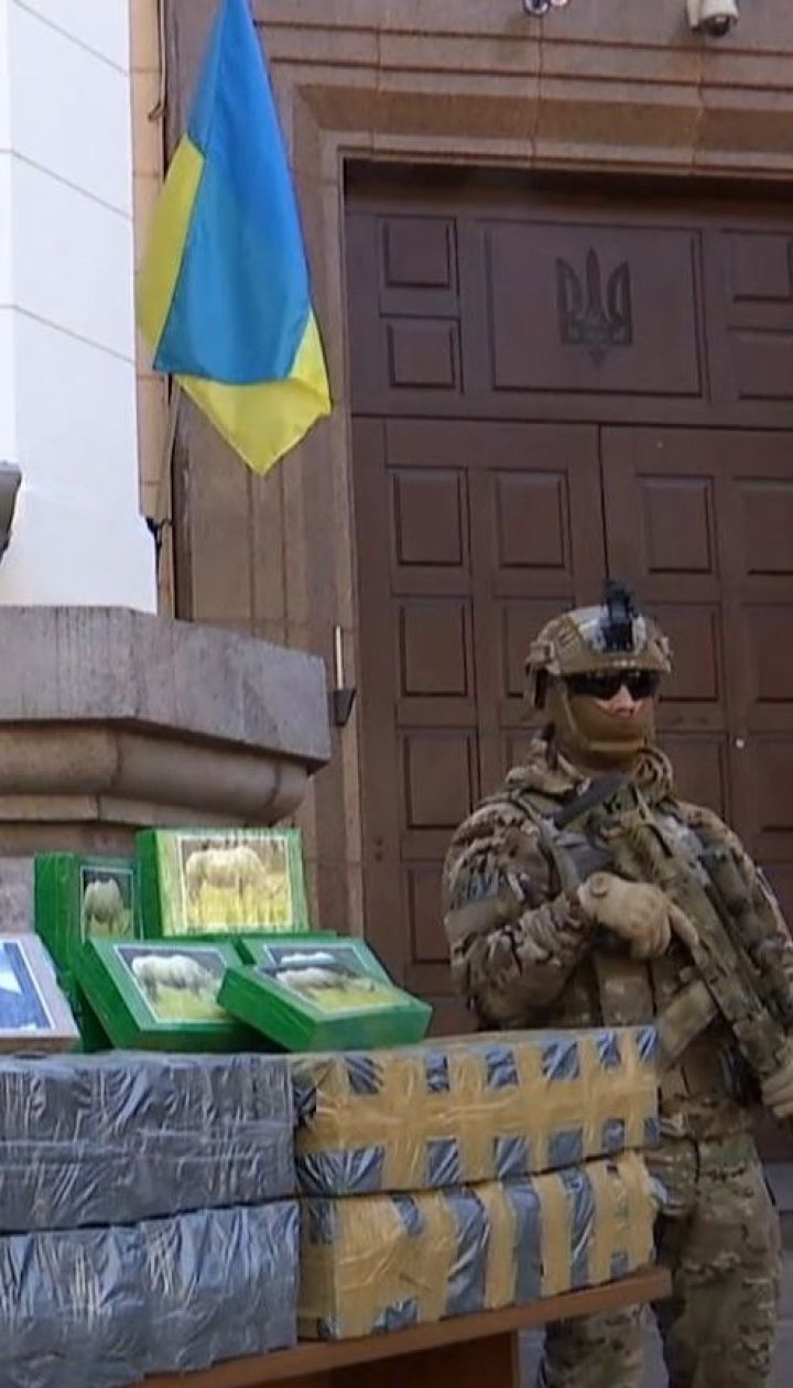 Рекордних 257 кілограмів кокаїну знайшли в порту Одещини