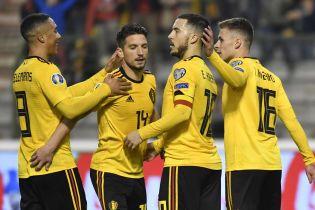 Сборная Бельгии уверенно победила Россию в отборе к Евро-2020