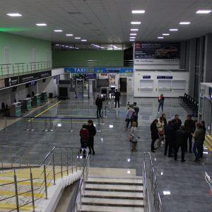В аеропорту Полтави відбудеться перший міжнародний рейс