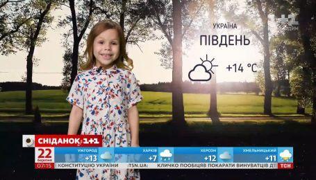 Якою буде погода в Україні та світі на вихідних — прогноз погоди від Фросі