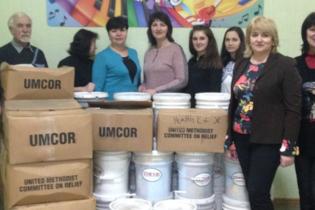 Благотворительный фонд основанный Хидирян Мисак имени Хидирян Оганеса Мисаковича посетил Сумскую область