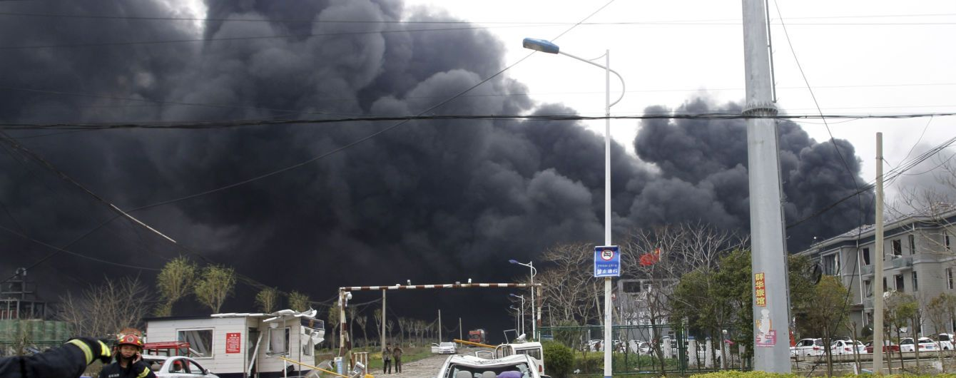 Кількість жертв вибуху китайського хімзаводу збільшилася до 47 осіб