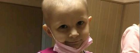 5-річна Мар'янка дуже сподівається на допомогу добрих людей