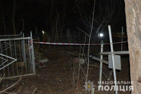 У Харкові на цвинтарі знайшли тіло немовляти, замотане в ганчірку й пакет