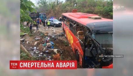 В Гане столкнулись два пассажирских автобуса: 60 человек погибли