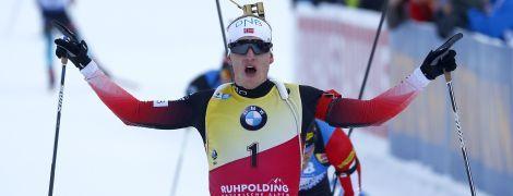 """Неутомимый Бё выиграл """"золото"""" в спринте на Кубке мира, Пидручный показал лучшее время среди украинцев"""