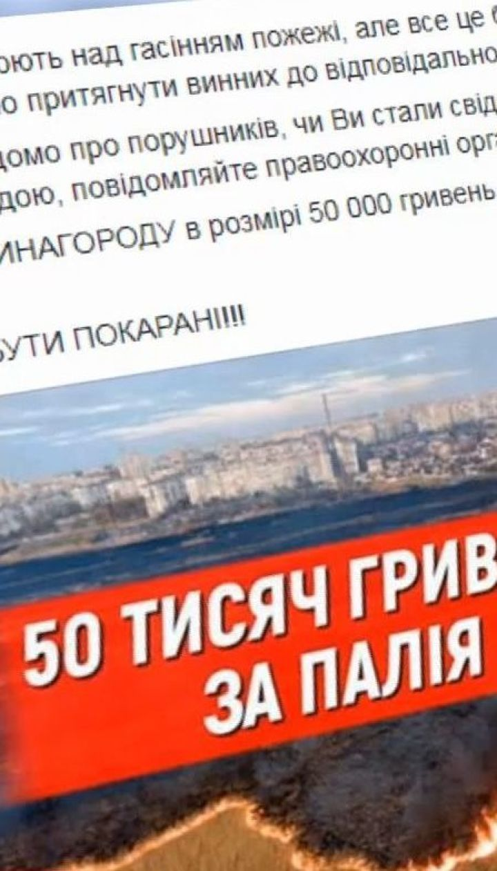 Голова Херсонської ОДА оголосив винагороду в 50 тис. грн за кожного палія очерету
