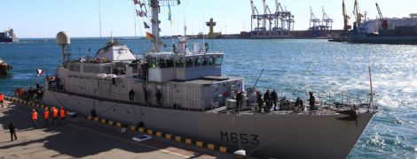 До одеського порту зайшов корабель НАТО