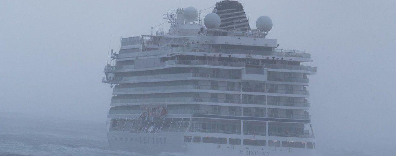 На круизном лайнере Viking Sky после аварии удалось запустить двигатели