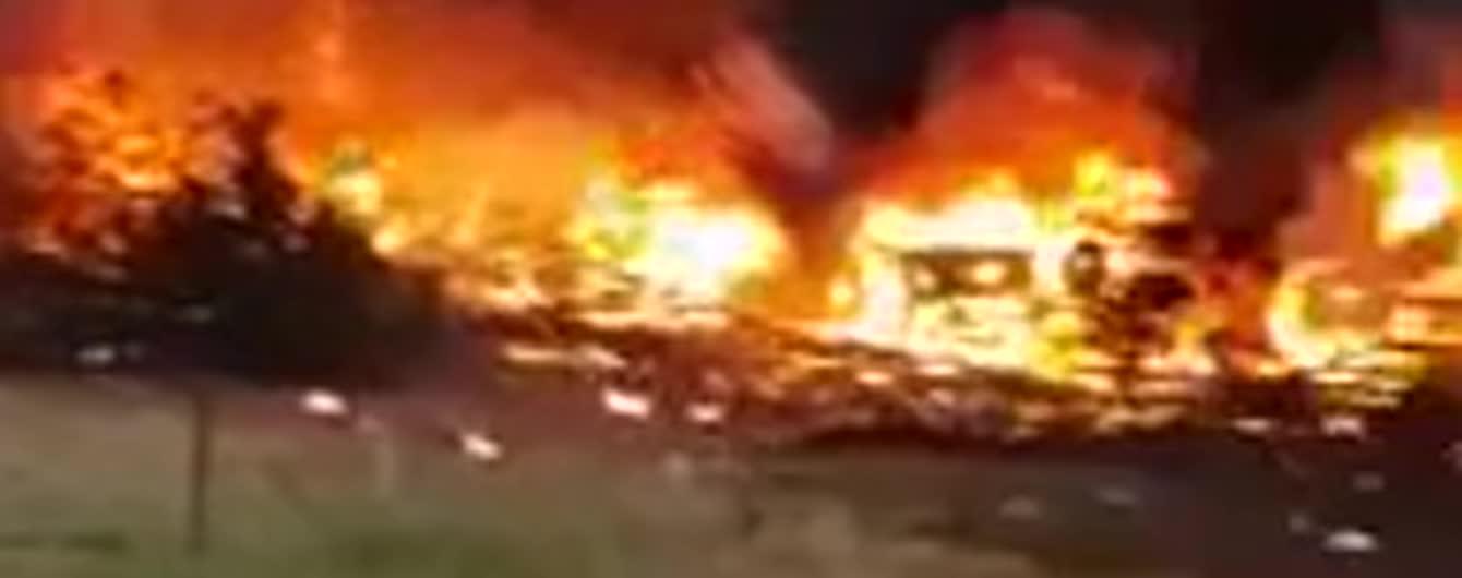 В Ботсване пилот-самоубийца протаранил самолетом свой дом, пытаясь убить семью и друзей – СМИ