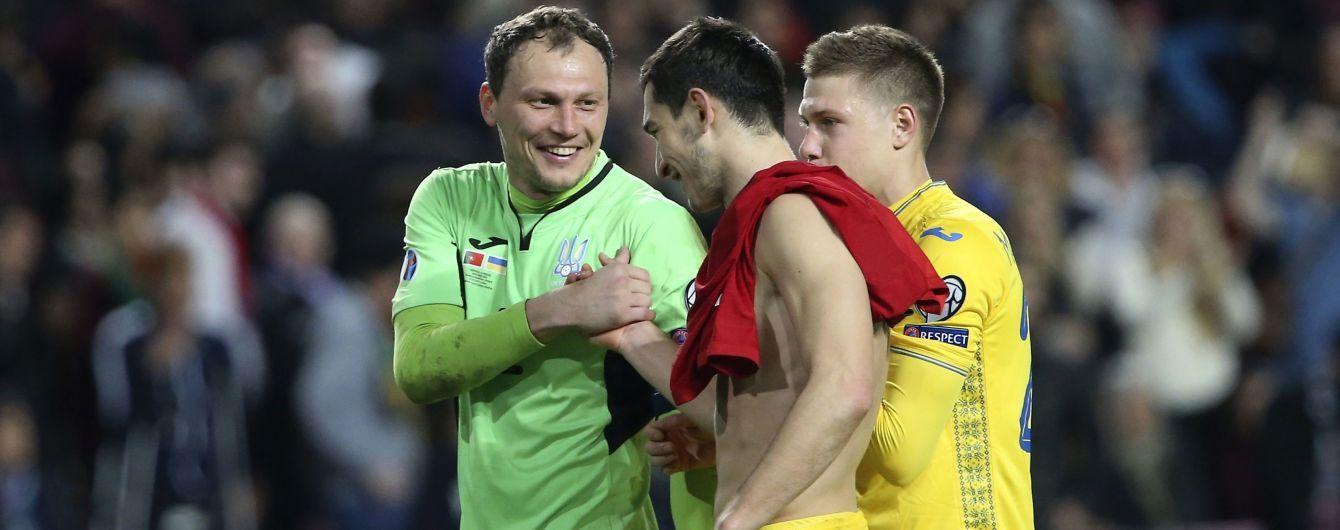 Букмекеры считают, что сборная Украины без проблем разберется с Люксембургом