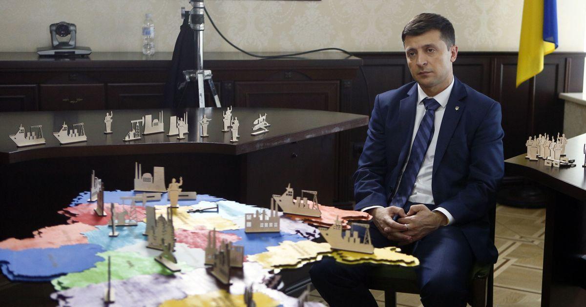 """Про Донбас, МВФ і серіал """"Свати"""". Головне з інтерв'ю Зеленського ТСН.Тиждень"""