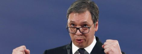 Сербія не хоче вступати в НАТО - президент Вучич