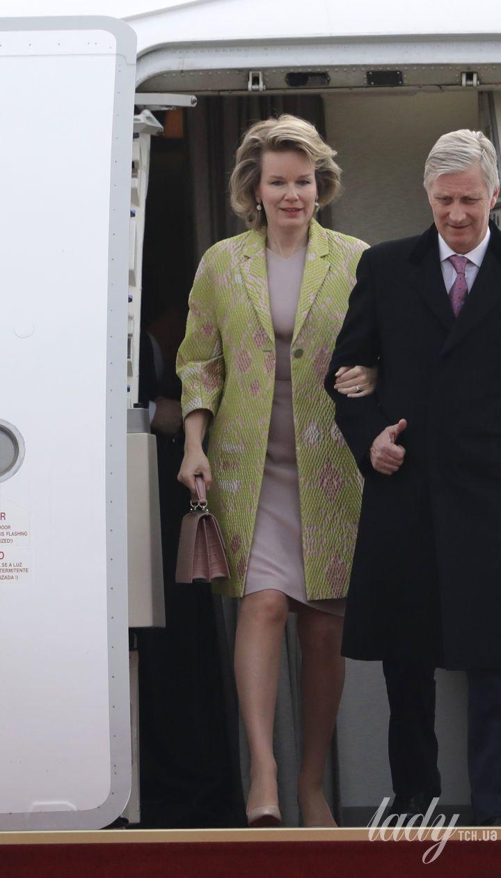 Королева Матильда і король Філіпп VI