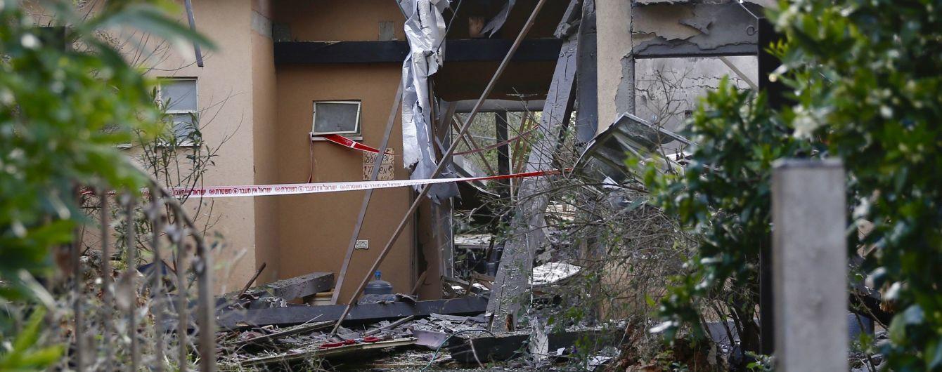 Ракета из Сектора Газа упала на жилой дом в Израиле - 7 человек ранены