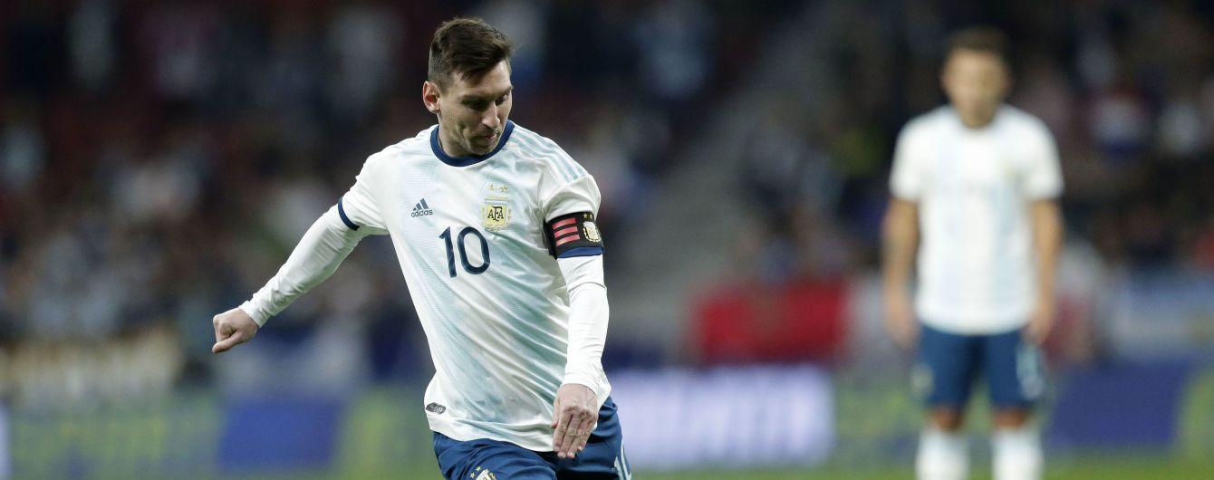 В Марокко потребовали объяснений от Аргентины, почему Месси не сыграет с ними