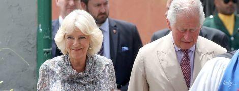 Просто сяє: герцогиня Корнуольська з'явилася на публіці в новій симпатичній сукні