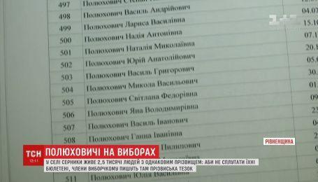 Более двух тысяч человек с фамилией Полюхович живут в Ровенской области
