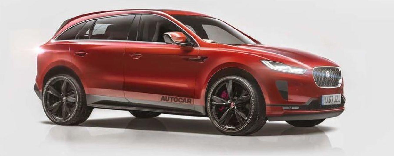 Jaguar представит внедорожник J-Pace на гибриде