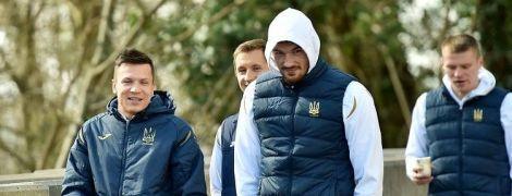 Прогулка по городу, желтая форма и Шабанов в заявке. Как сборная Украины проводит матчдей с Люксембургом
