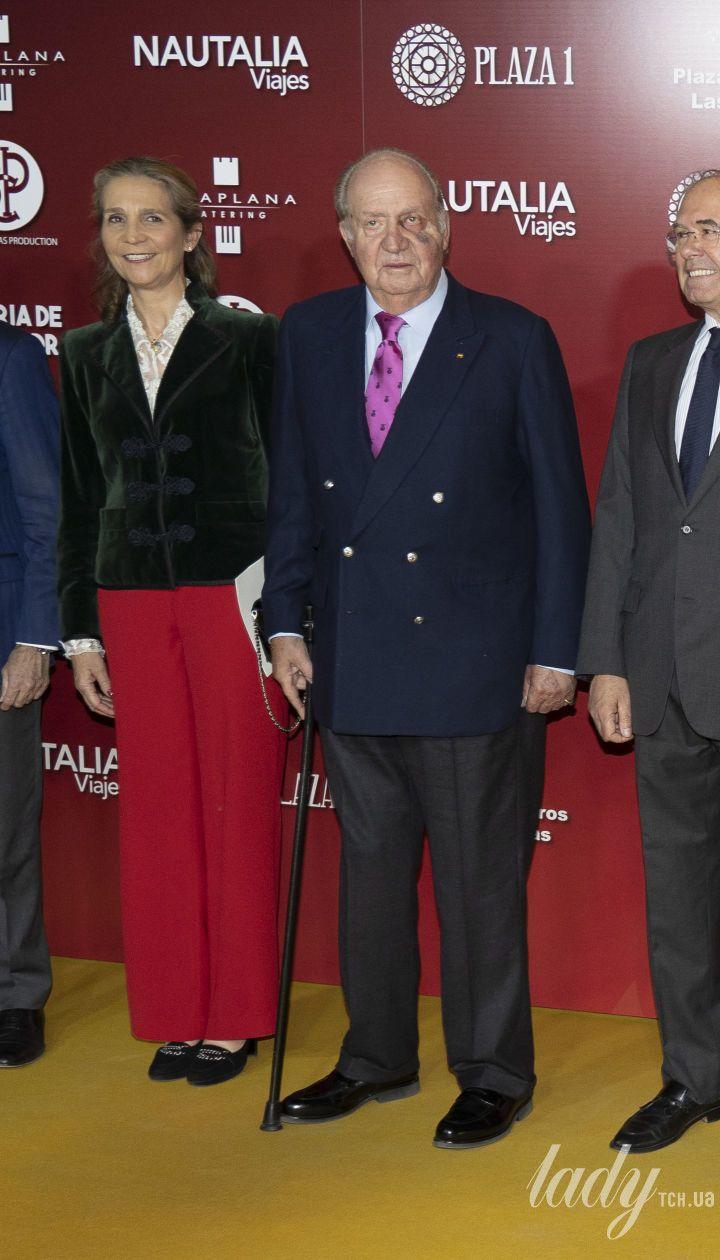 Принцесса Елена и король Хуан Карлос