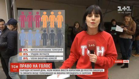 Предвыборный ажиотаж: в Киеве рекордное количество желающих изменить место голосования