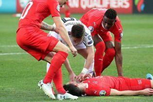Грузинський футболіст врятував життя супернику, який знепритомнів під час матчу
