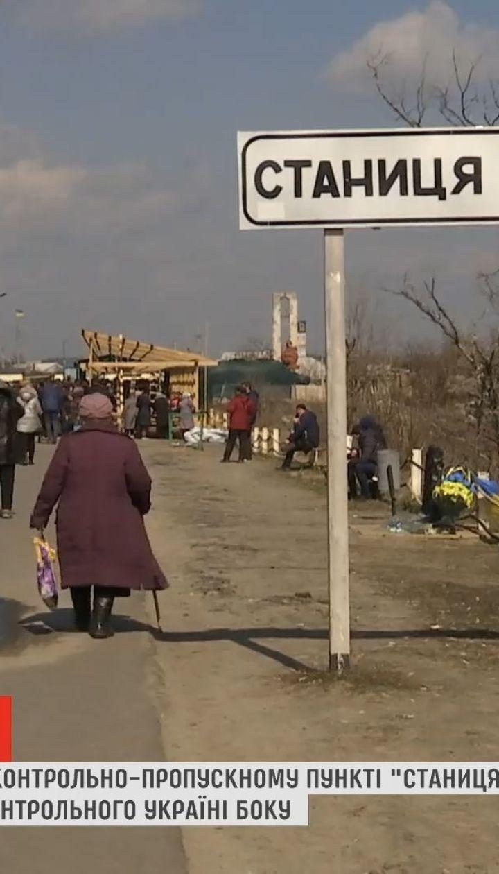 Боевики блокируют строительство разрушенного моста в Станице Луганской