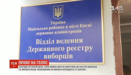 Более 280 тысяч украинцев изменили место голосования на выборах