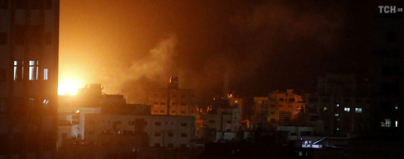 Авіація Ізраїлю розбомбила офіс лідера ХАМАС у Секторі Гази