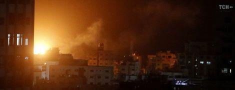 Авиация Израиля разбомбила офис лидера ХАМАС в Секторе Газа