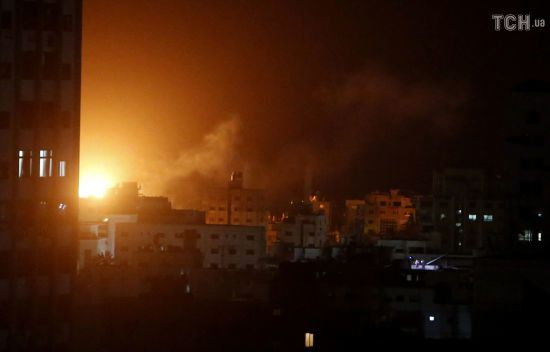 Авіація Ізраїля розбомбила офіс лідера ХАМАС у секторі Газа