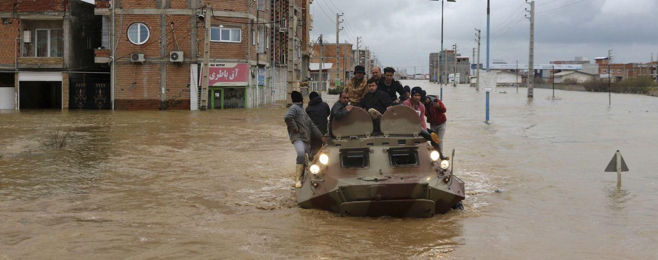 Євросоюз виділить допомогу постраждалим від масштабних повеней в Ірані