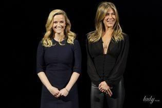 Энистон с декольте, а Уизерспун в скромном платье: звездные гости на презентации Apple в Купертино