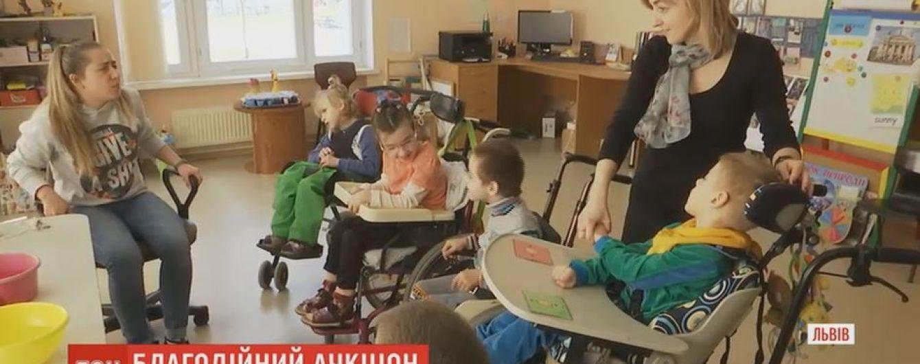 Во Львове 400 людей предлагают купить встречу с собой ради людей с инвалидностью