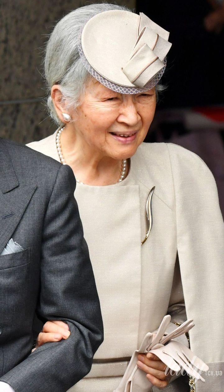 Императрица Японии Митико с императором Акихито